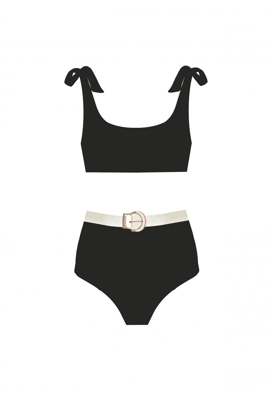 Rachael Black Bikini