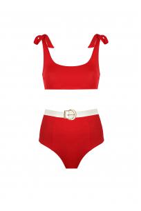 Rachael Red Bikini
