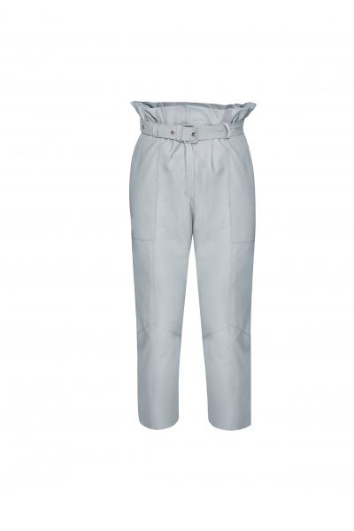 Rone Deri Mavi Pantolon