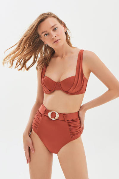 Carmen Brown Bikini