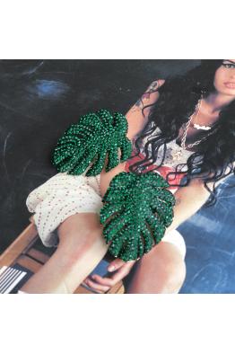 POISON BY KIRAMER Mini Leaf Küpe