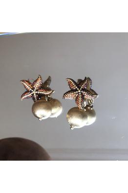 POISON BY KIRAMER Starfish Toplu Küpe