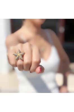 POISON BY KIRAMER Starfish Yüzük