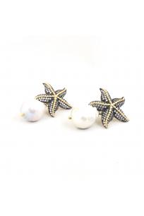Starfish Barok İncili Küpe