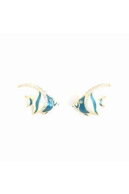 POISON BY KIRAMER Angel Fish Küpe