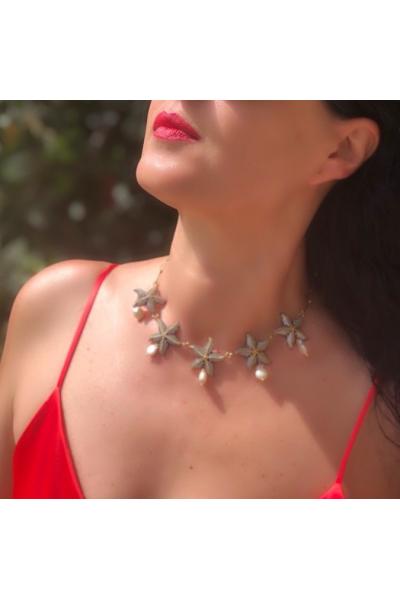 POISON BY KIRAMER Starfish İncili Kolye