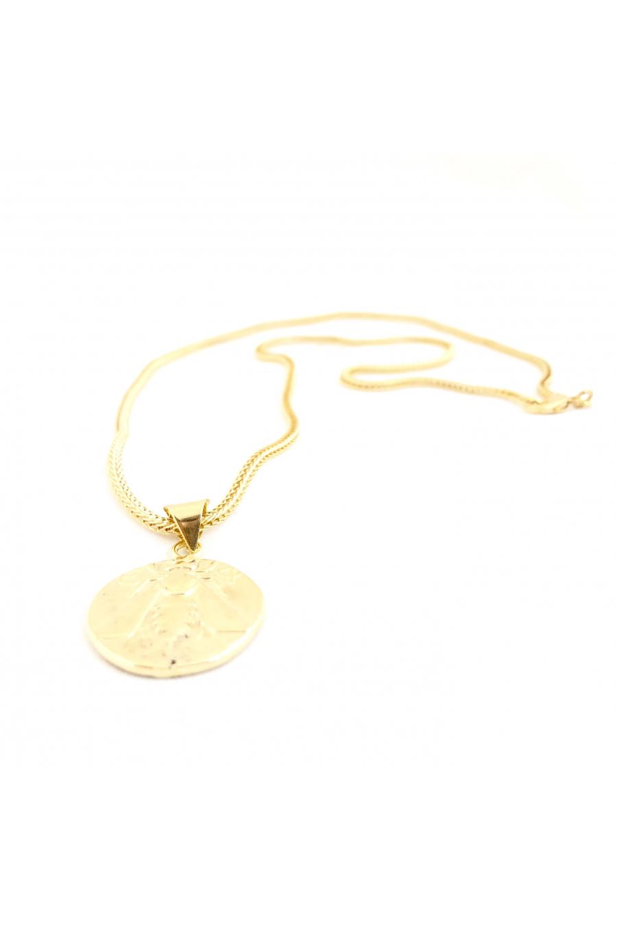 Arı Madalyon Kolye