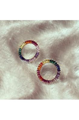 POISON BY KIRAMER Rainbow Küpe