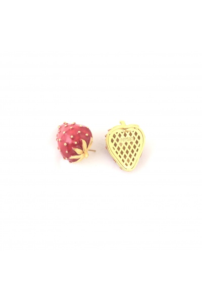 Strawberry Batter Button Strawberry Batter Button