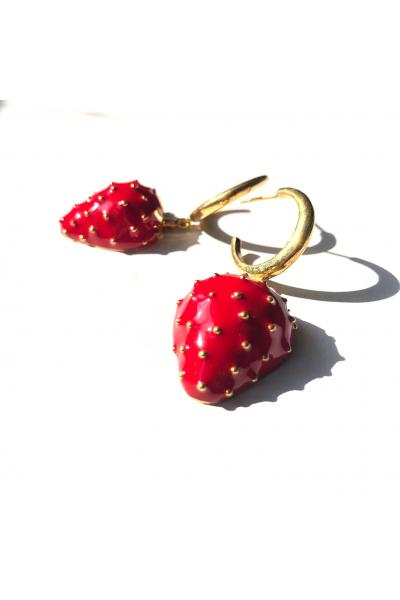 Strawberry Batter Button -Halka- Strawberry Batter Button -Halka-