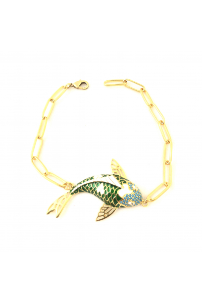 POISON BY KIRAMER Koi Fish Bileklik -Yeşil-