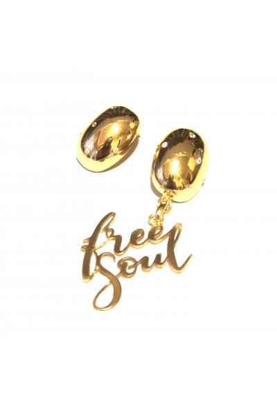 I've a Message Tek Küpe -Free Soul- I've a Message Tek Küpe -Free Soul-