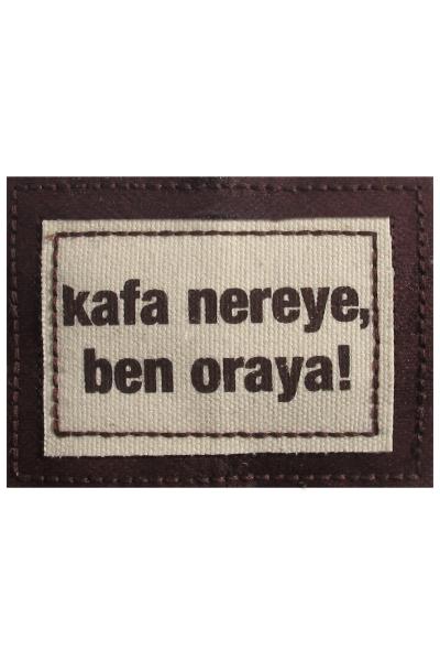 Ozz Hats Kafa Nereye, Ben Oraya