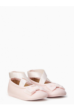 Ballet Slipper With Bow