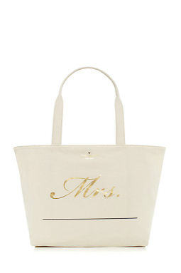 Wedding Belles Customizable Mrs tote