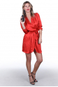 MILANO DRESS RED