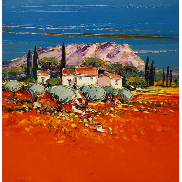 Paysage de Saint Victorien / Aziz Victoria Manzarası