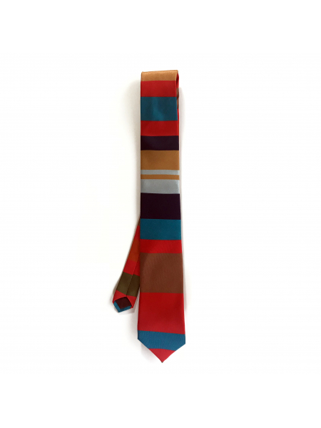 The Western Colours Silk Tie