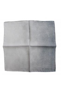 The Black Ears The Grey Stone Silk Pocket Square
