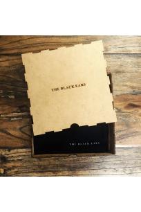 The Black Square Silk Pocket Square