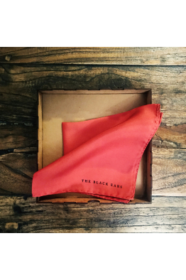 The Black Ears The Red Square Silk Pocket Square