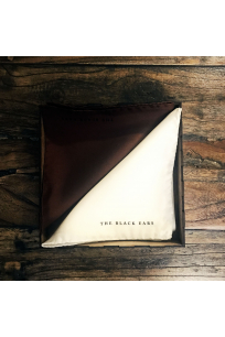 The Brown Square Silk Pocket Square