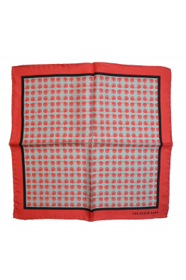 The Black Ears The Red Dapper Silk Pocket Square