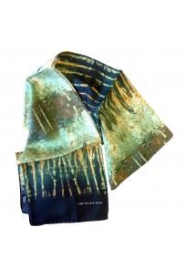 The Rusty Metal Silk Scarf