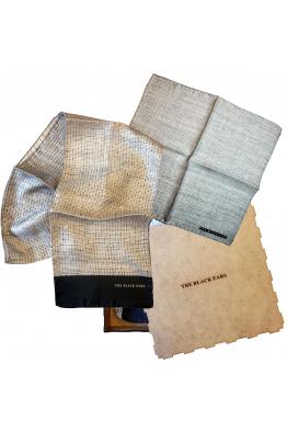 The Black Ears The Rush Mat Silk Pocket Square & Scarf Set