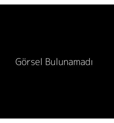 Jour Du Nil Mercan Renkli Mine Deniz Kabuğu / Siyah Mine Denizatı Küpe