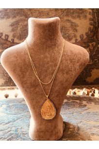 Otantik Pear Shaped Chain Neckles