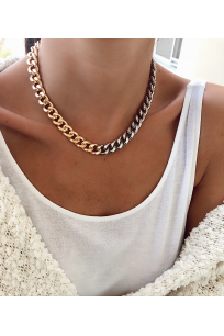 GOLD&SILVER  CHAIN