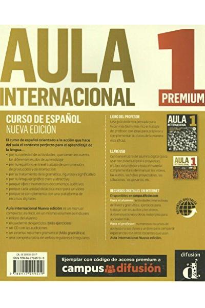 Aula Internacional Nueva edición 1 + CD (Orjinal Renkli Basım)