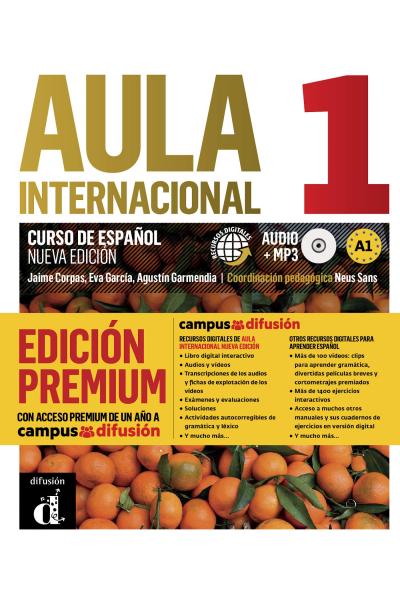 Aula internacional 1 nueva edición  Libro del alumno + MP3-CD + Premium Aula internacional 1 nueva edición  Libro del alumno + MP3-CD + Premium