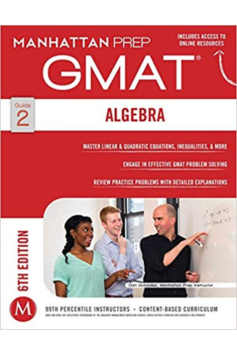 manhattan prep GMAT guide 2 ALGEBRA