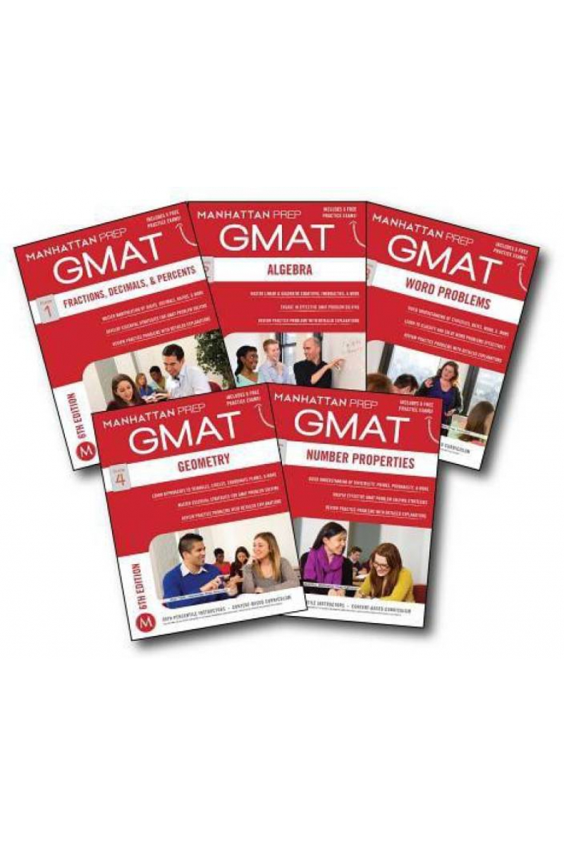 manhattan prep GMAT guide 1-2-3-4-5-6 SET