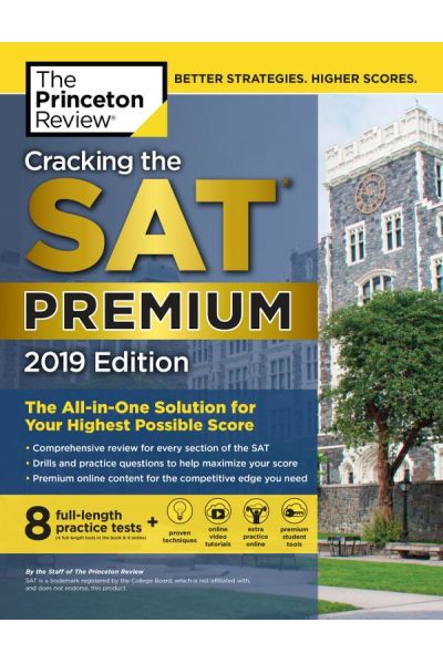 cracking the SAT premium 2019 the princeton review