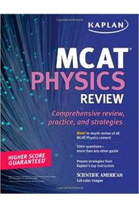 KAPLAN MCAT physics review 2010