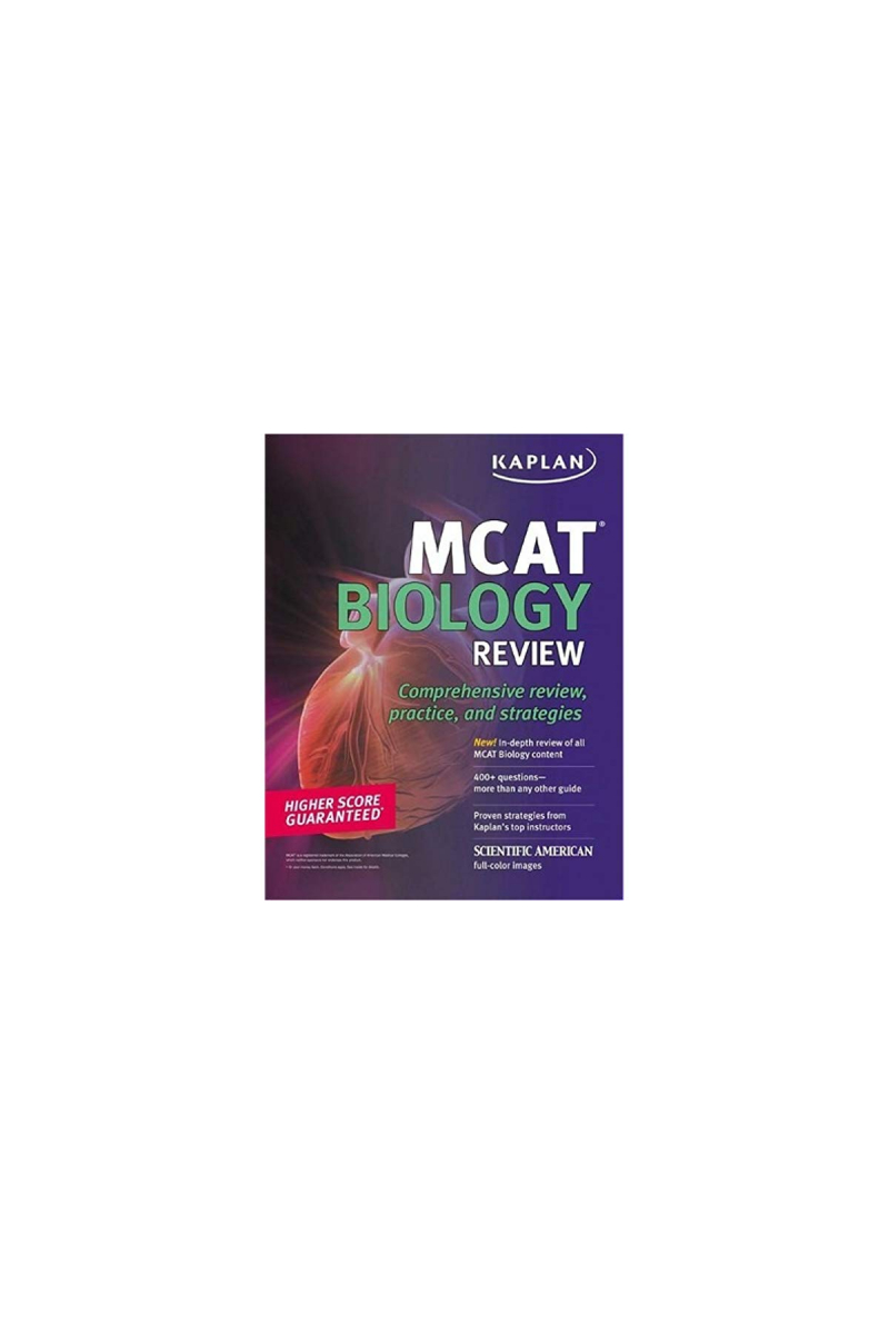 KAPLAN MCAT biology review 2010