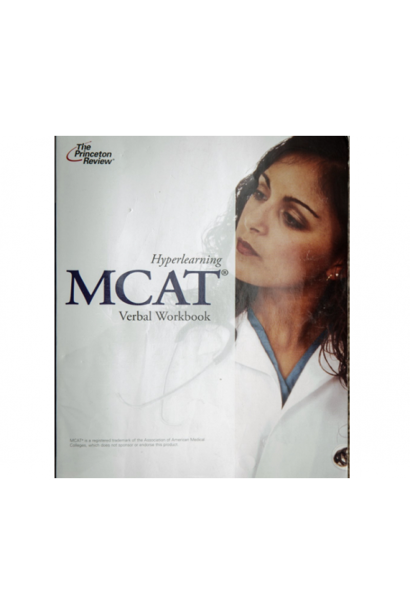 hyperlearning MCAT verbal workbook the princeton review