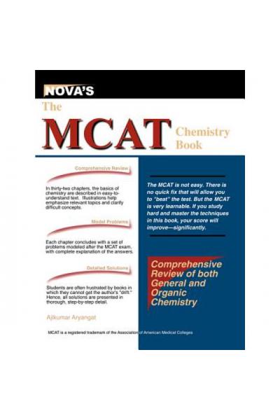 NOVA'S the MCAT chemistry (ajikumar aryangat) 2006