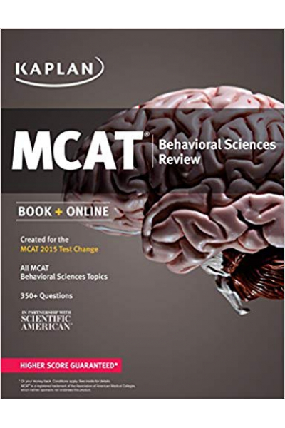 KAPLAN MCAT behavioral sciences review 2015