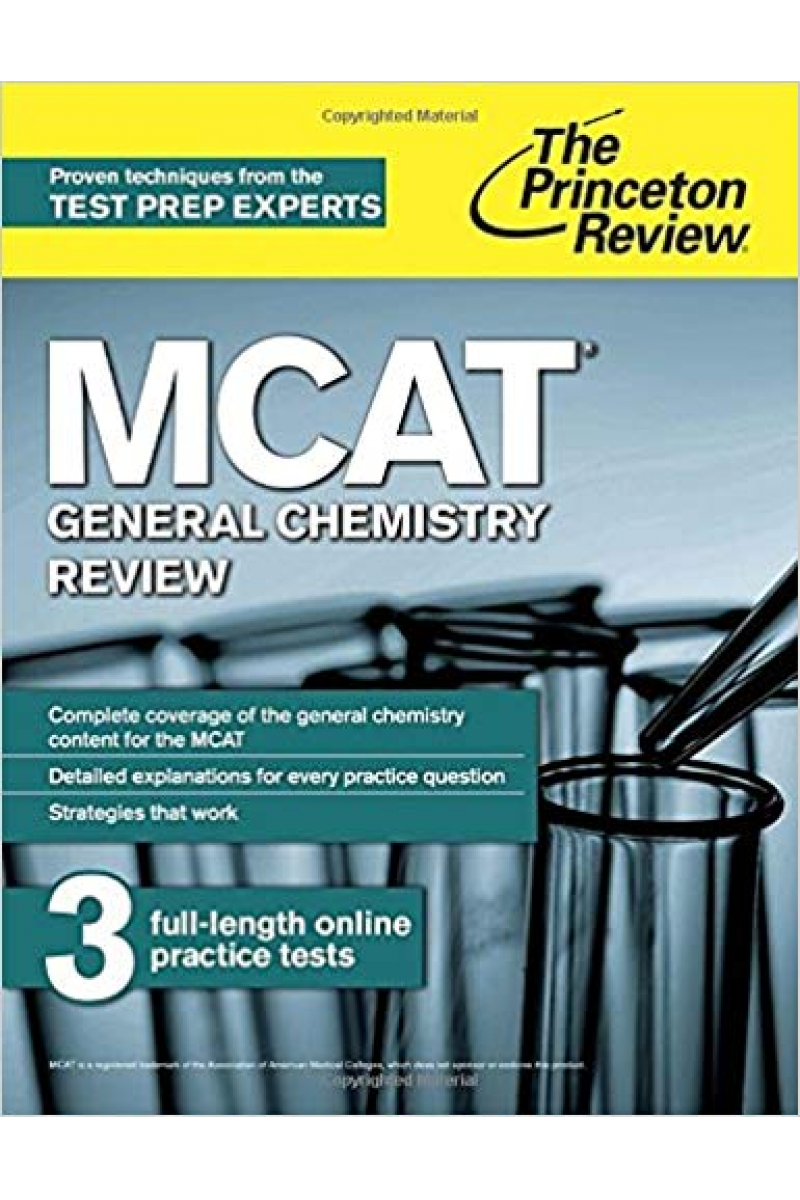 MCAT general chemistry the princeton review 2015