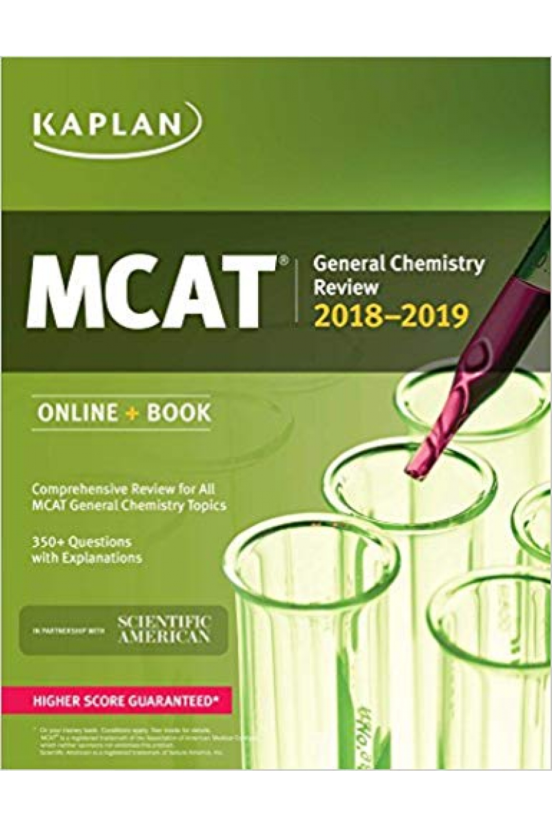 KAPLAN MCAT 2019-2020 general chemistry review