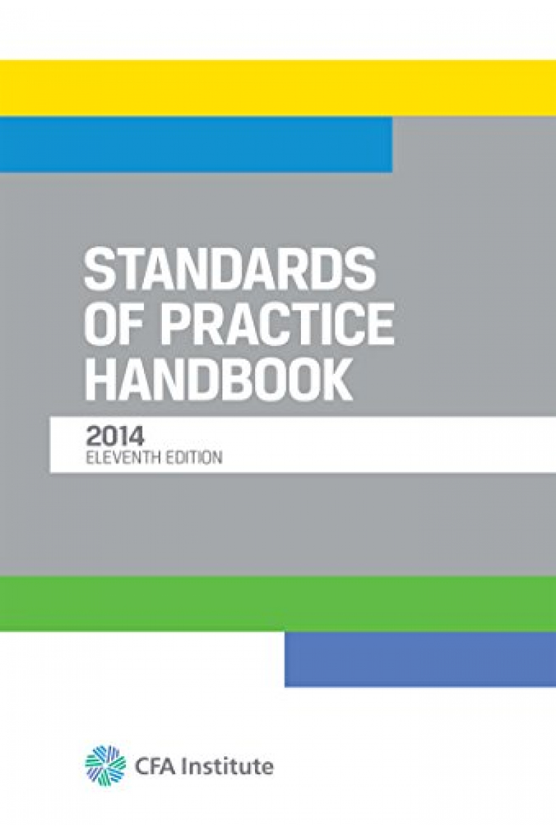 CFA institute standart of practice handbook 11th 2014