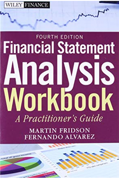 financial statement analysis workbook 4th (fridson, alvarez)