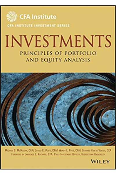 CFA institute investment series investments workbook (mcmillan, pinto, pirie, venter)