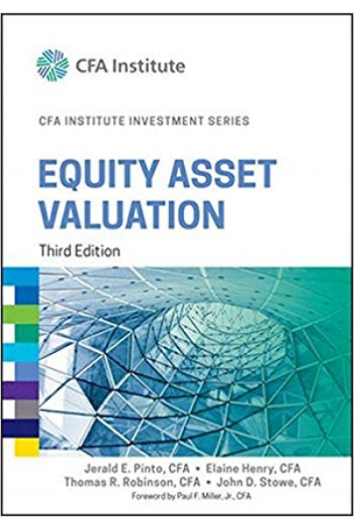 CFA institute investment series equity asset valuation 3rd (pinto, henry, robinson, stowe)