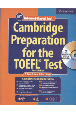 Bookstore cambridge preparation for the toefl test 4th 2019-2020 + CD