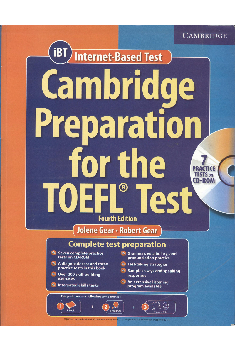 cambridge preparation for the toefl test 4th 2019-2020 + CD